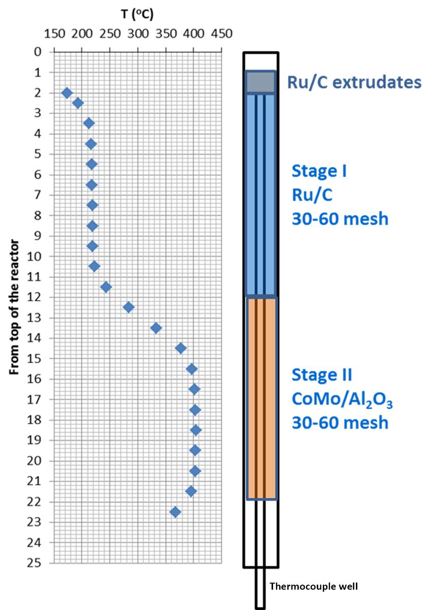 Biomass Conversion to Produce Hydrocarbon Liquid Fuel Via Hot-vapor