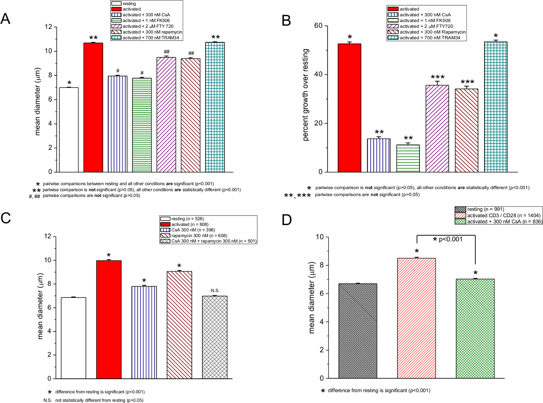 Rapid Quantification of Mitogen-induced Blastogenesis in T