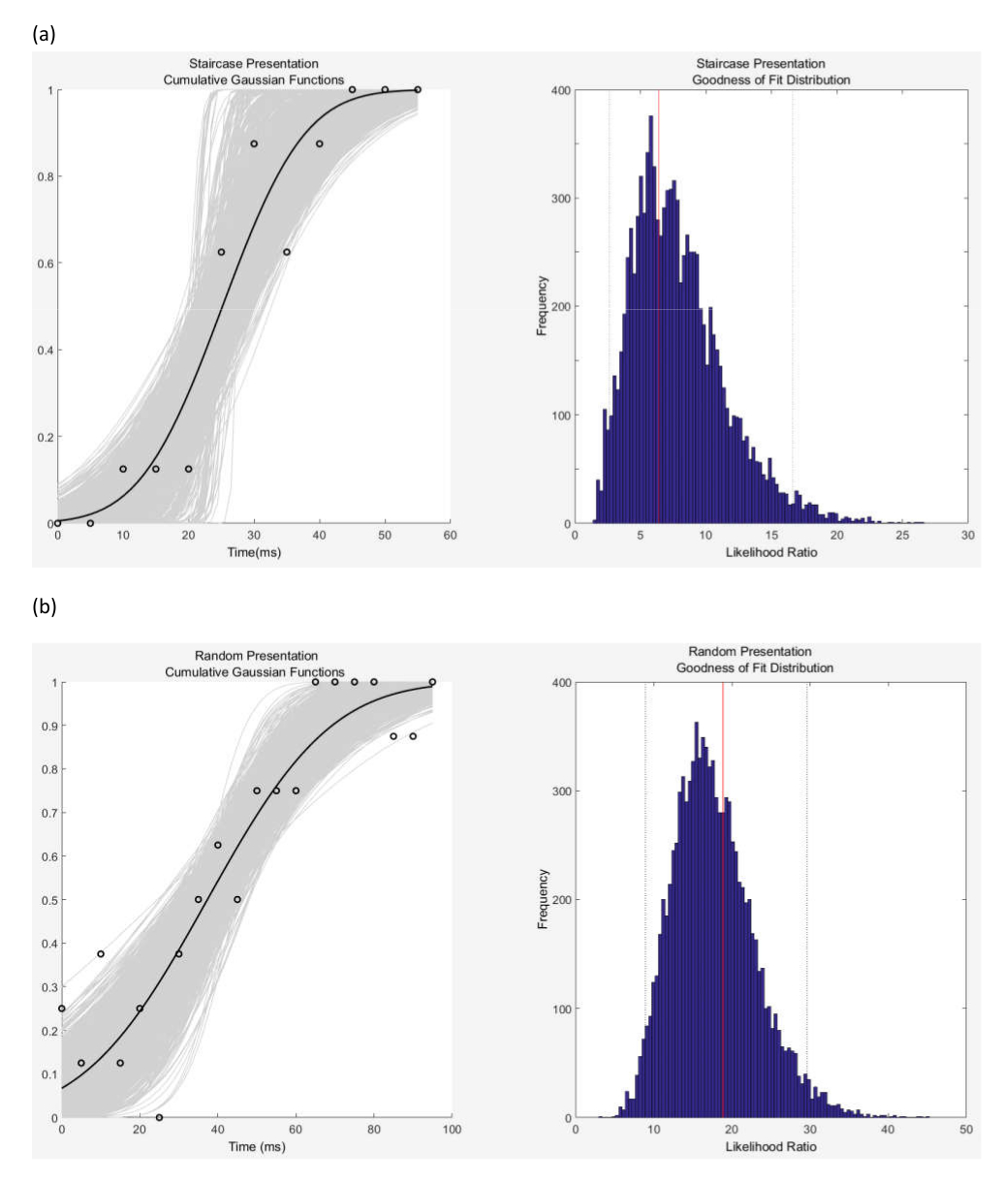 Measurement & Analysis of the Temporal Discrimination