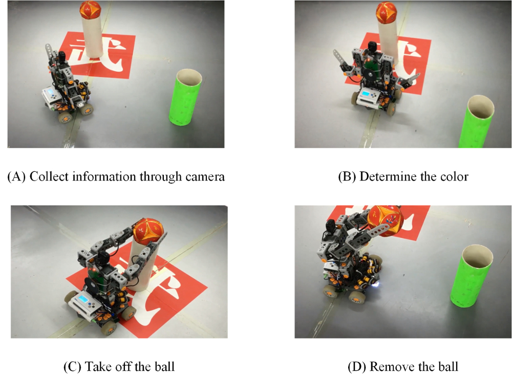 The Modular Design and Production of an Intelligent Robot Based on a